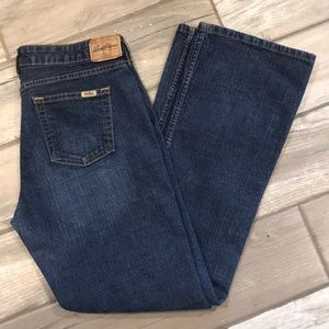 Levi's Stretch Low Rise Bootcut Jeans - Size 10